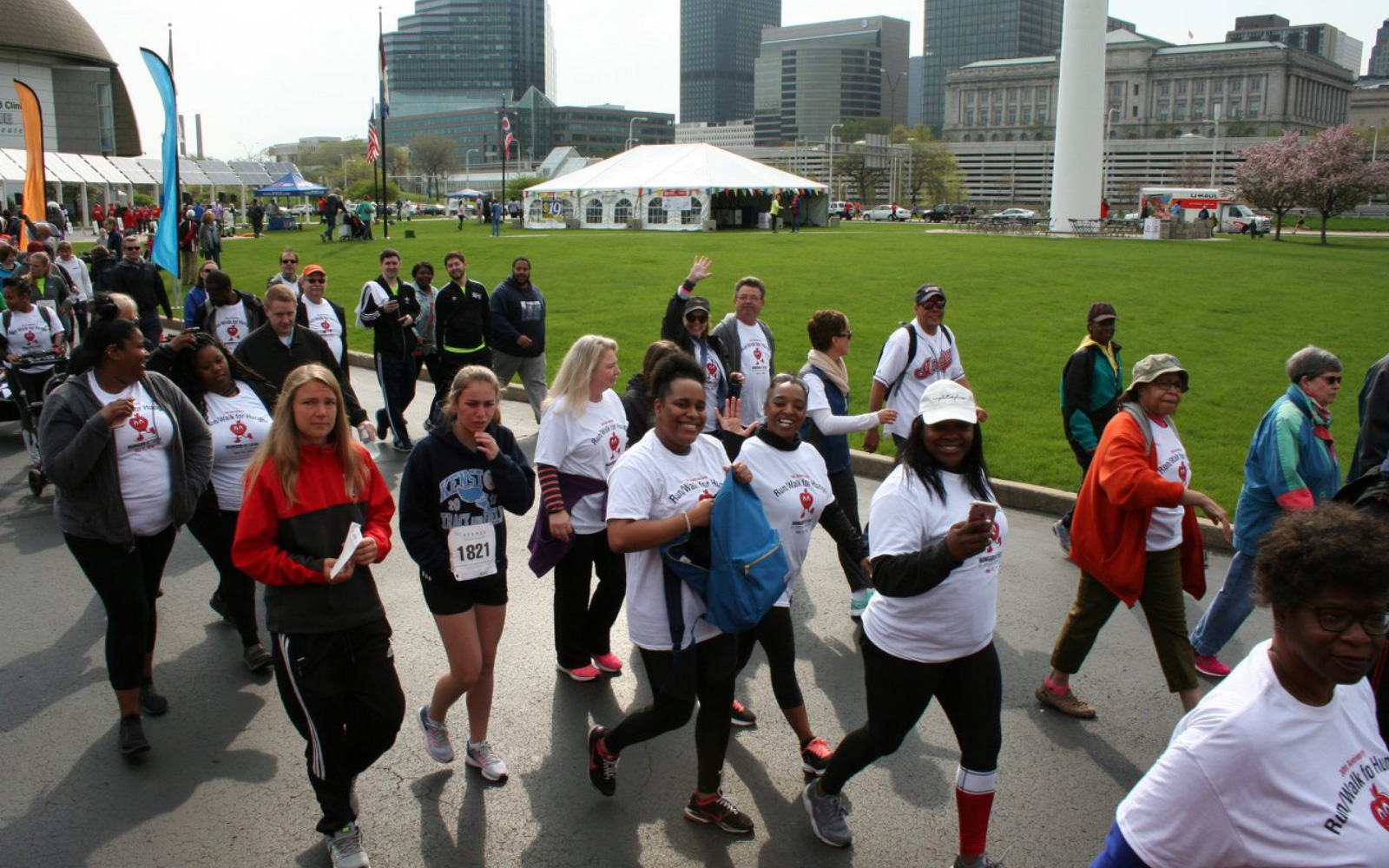 Hunger Network of Greater Cleveland's 33rd Annual Walk for Hunger & 5K Run