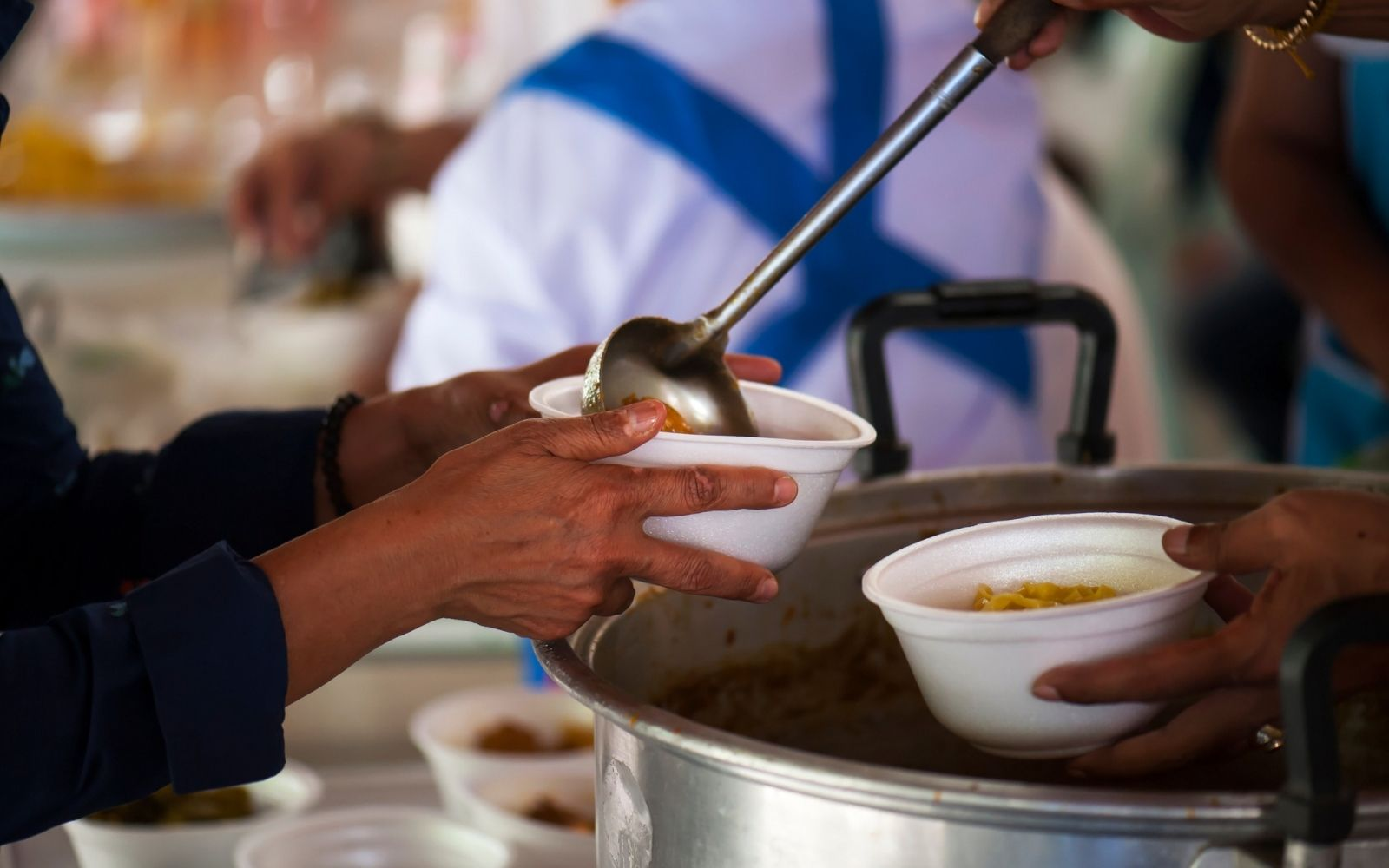 Help Prepare & Serve Community Meals